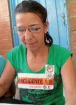 Bertha Elena Monsalve Múnera - Presidenta Asamblea Barrial sector Sinaí